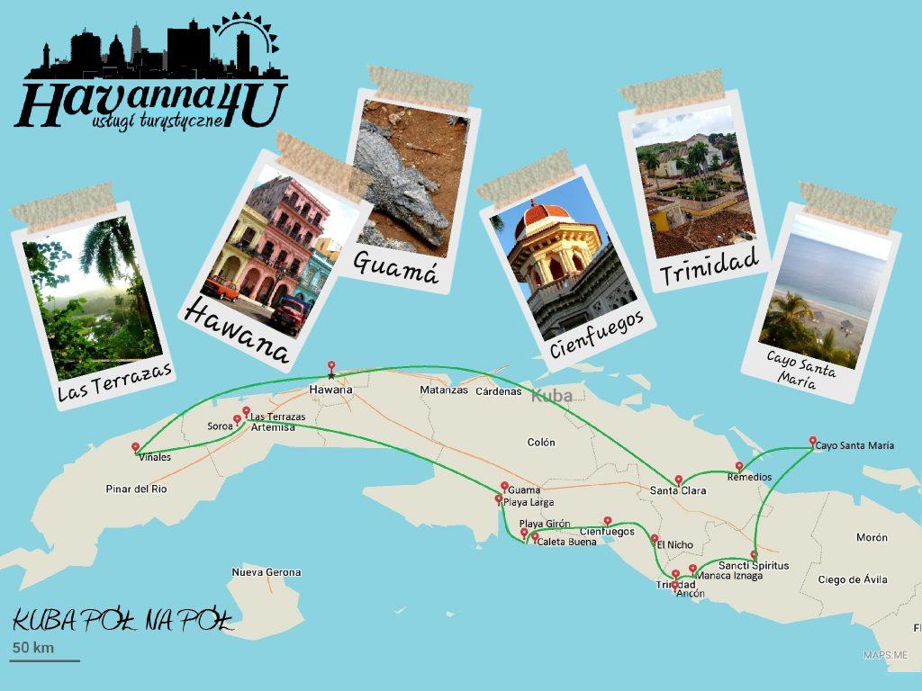 Kuba pół na pół (15 dni)